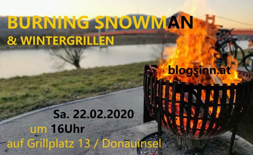 Burning Snowman 2020